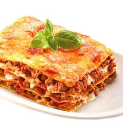 lasagna carne